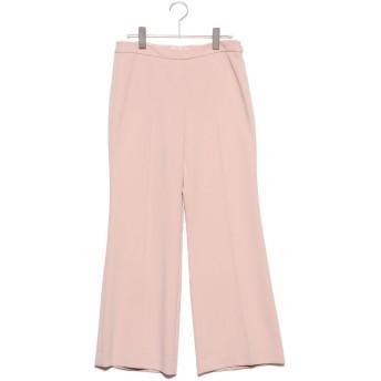 リネーム Rename 裾フレアシルエットアンクル丈パンツ (ピンク)