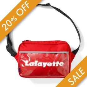 Lafayette ラファイエット CLEAR POCKET SHOULDER BAG ショルダーバック LFT19SS085 RED レッド 【20%オフ】