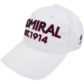 ADMIRAL GOLF (アドミラル ゴルフ) ツイルキャップ [ユニセックス] ADMB820F 【WHT(00)/F】 WHT,F