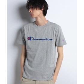(SPENDY'S Store/スペンディーズストア)〈Champion〉ロゴプリントTシャツ/メンズ 杢グレー