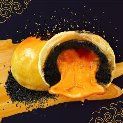 《拿破崙餅舖》 獨家限量流沙蛋黃酥單盒(濃厚芝麻/酸甜土鳳梨)