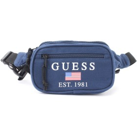 ゲス GUESS SPORTY LOGO WAIST BAG (MANOR BLUE)