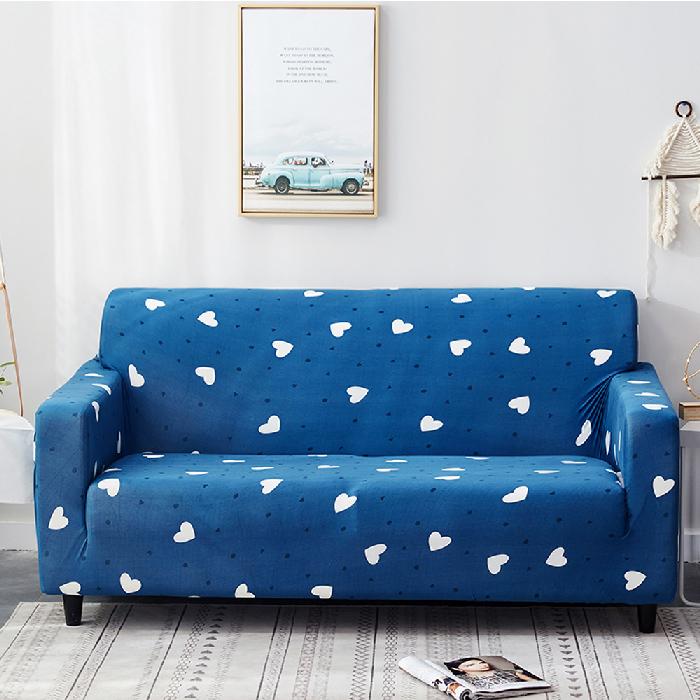 海洋之心彈力沙發套三人座