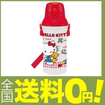 スケーター 子供用 水筒 480ml ハローキティ ギンガムチェック 日本製 PSB5SAN