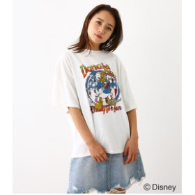 【Rodeo Crowns/RODEO CROWNS WIDE BOWL:トップス】(Donald)ROCK Tシャツ