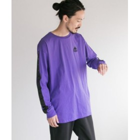 (URBAN RESEARCH/アーバンリサーチ)Kappa×URBAN RESEARCH iD 別注long sleeve/メンズ MPURPLE