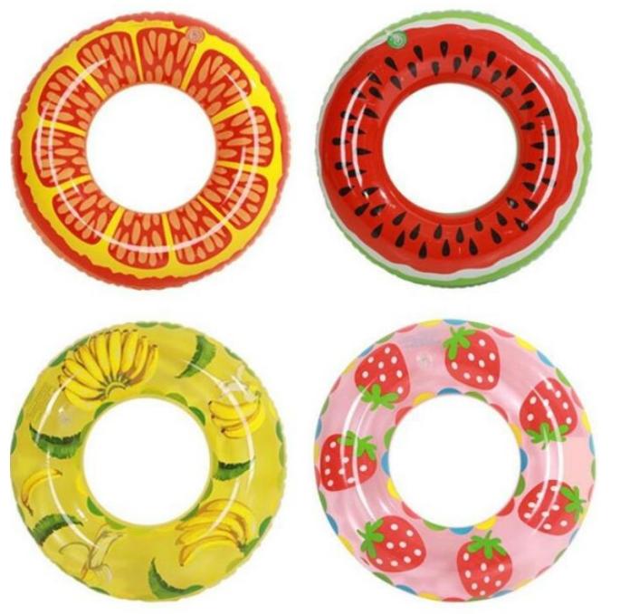 水果造型泳圈-直徑70cm (隨機出貨)