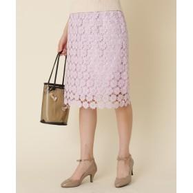 couture brooch クチュールブローチ フラワーレース タイトスカート