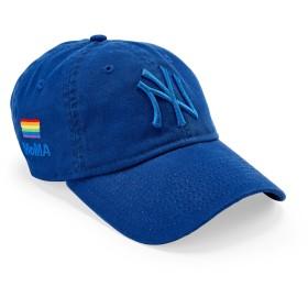 NY ヤンキース Pride キャップ ブルー