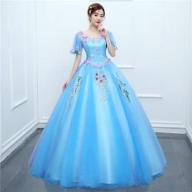 カラードレス ウェディングドレス ロングドレス ピアノ 発表会 ドレス 成人式 演奏会用ドレス ロング ステージ衣装 大きいサイズ コンサ