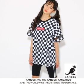PINK-latte(ピンクラテ)/【KANGOL】BOXロゴ Tシャツ