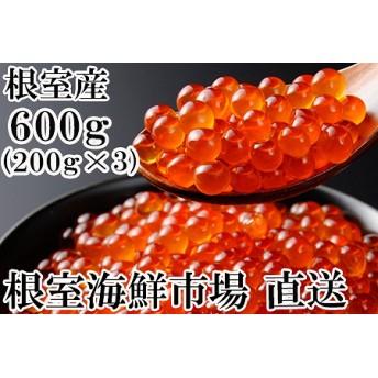北海道根室産 いくら醤油漬け200g×3P