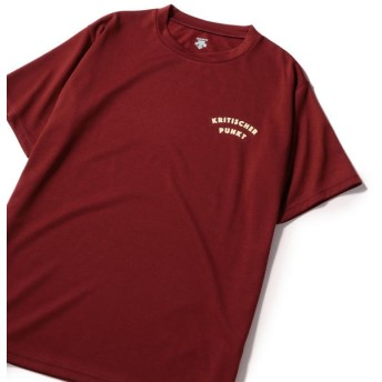 【シップス/SHIPS】 DESCENT ddd: プリント半袖Tシャツ