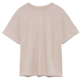 ミラオーウェン ハイラインクルーネックTシャツ レディース LBEG 0 【Mila Owen】