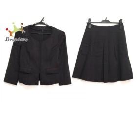 アナイ ANAYI スカートスーツ サイズ36 S レディース 黒 新着 20190814