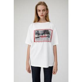 マウジー 80S STREET SCENE Tシャツ レディース WHT FREE 【MOUSSY】