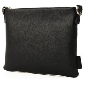 カバンのセレクション グランジオール サコッシュ ショルダーバッグ クラッチバッグ 2WAY メンズ 本革 A5 gr201 ユニセックス ブラック フリー 【Bag & Luggage SELECTION】