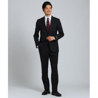 タケオキクチ シャドーストライプスーツセット Material using CORDURA メンズ ブラック(319) 03(L) 【TAKEO KIKUCHI】