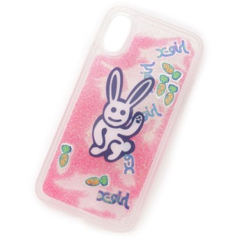 【エックスガール/X-girl】 BUNNY LOVES CARROT MOBILE CASE FOR IPHONE X/XS
