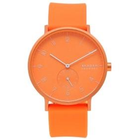 「P10%還元 9/15 0~24時マデ」 スカーゲン 腕時計 メンズ SKAGEN SKW6558 オレンジ