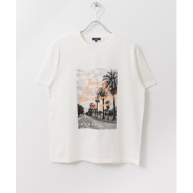 (ITEMS URBANRESEARCH/アイテムズ アーバンリサーチ)PHOTO PRINT T-SHIRTS/メンズ OFF/ORG