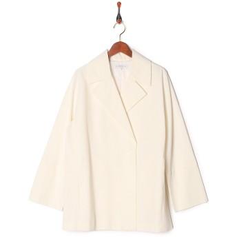 MOGA ナリヤタフタ○B0261CFC201 オフホワイト ジャケット・ベスト