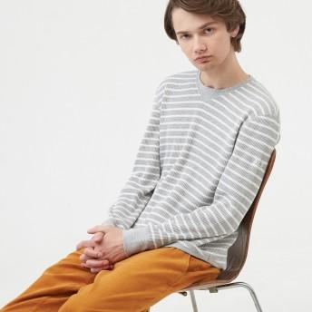 AIGLE メンズ ライトヘザーグレー (103) シャツ・ポロシャツ