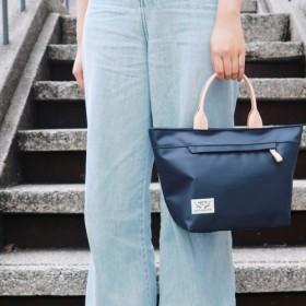 10%オフ[日光植栽]深刻な生活のハンドバッグ-ブルー