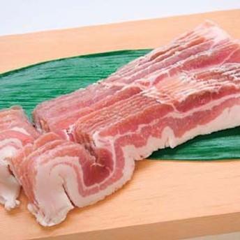 四元豚 豚バラスライス(2mm)500g(スペイン産) バーベキュー BBQに最適【豚肉】(nh120834)