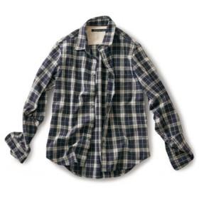 気さくなチェックシャツ〈メンズ〉 サニークラウズ フェリシモ FELISSIMO【送料無料】