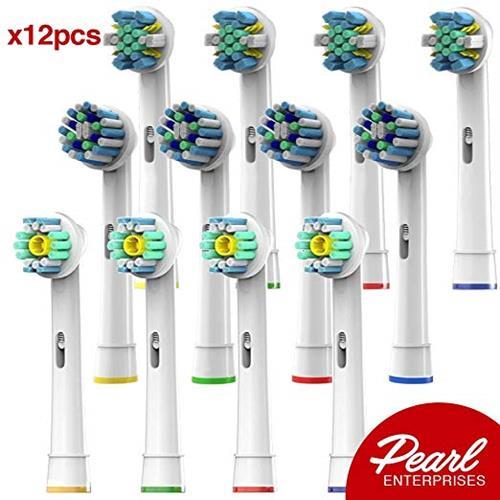 【美國代購】OralB- 更換刷頭相容 12電動牙刷 適合OralB