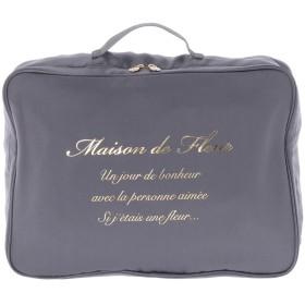 メゾンドフルール Maison de FLEUR トラベル収納Mケース (Gray)