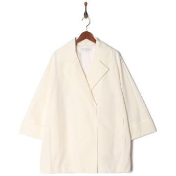 MOGA ナリヤタフタ○B0265CFC201 オフホワイト ジャケット・ベスト