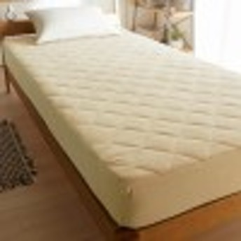 綿100%ソフトパイルのボックスシーツ型敷きパッド
