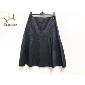 ヒロコビス HIROKO BIS スカート サイズ11 M レディース 美品 黒 新着 20190814