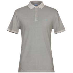《セール開催中》AT.P.CO メンズ ポロシャツ グレー M コットン 100%