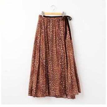 【NOLLEY'S:スカート】【ne Quittez pas/ヌキテパ】レオパードスカート