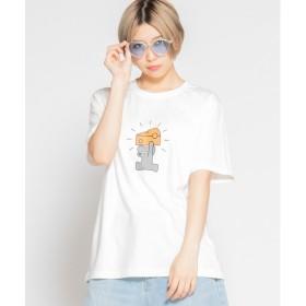 WEGO WEGO/SEIJIMATSUMOTO別注Tシャツ(ホワイト系)【返品不可商品】