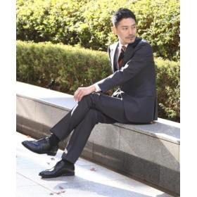 (TAKEO KIKUCHI/タケオキクチ)【 WEB 限定 】バーズアイスーツ [ メンズ スーツ ]/メンズ チャコールグレー(014) 送料無料