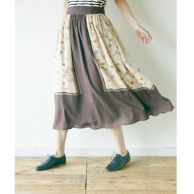 NIMES / ニーム La boulangerie タックギャザースカート