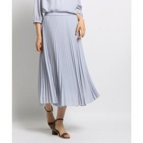 INDIVI / インディヴィ 【マシンウォッシュ】スローププリーツスカート