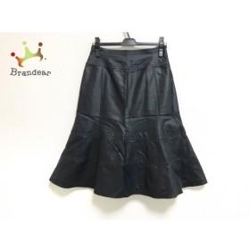 リコヒロコビス +RICO HIROKOBIS スカート サイズ11 M レディース 美品 黒 新着 20190814