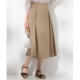 【J.PRESS LADIES:スカート】【洗える】ナチュラルドライツイル ミディ丈 スカート