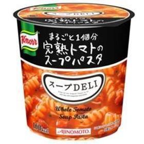 【送料無料】味の素 クノール スープDELI まるごと一個分完熟トマトのスープパスタ(容器入り) 41.6g×12(6×2)個入