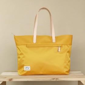 [日光植栽]スタッフがトートバッグを感じる-黄色