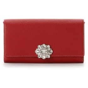 【Samantha Thavasa Deluxe:財布/小物】ビジュー付きお財布バッグ