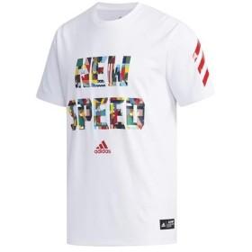 アディダス(adidas) メンズ レディース 野球 Tシャツ 5T NEWSPEEDT ホワイト FYH32 ED3761 野球ウェア 半袖 トップス プラクティスウェア 練習着