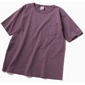 [マルイ] Champion: ガーメントダイ ポケット Tシャツ <MADE IN USA/T1011>/シップス(メンズ)(SHIPS)