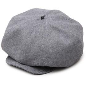 MC-2004-WOMEN-GRY-F トレンドのキャスケット+ベレー帽の2WAYタイプキャスベレー グレー フリー (MC2004WOMENGRYF)