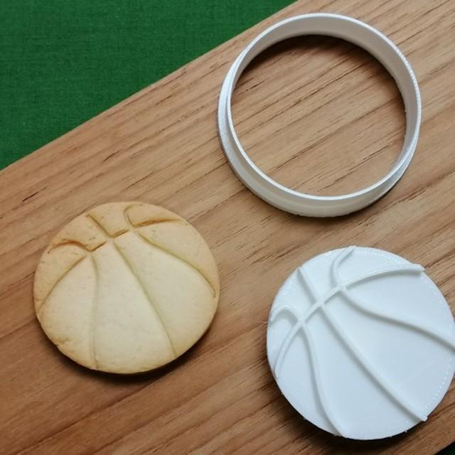 sports☆バスケットボール クッキーカッター/クッキー型